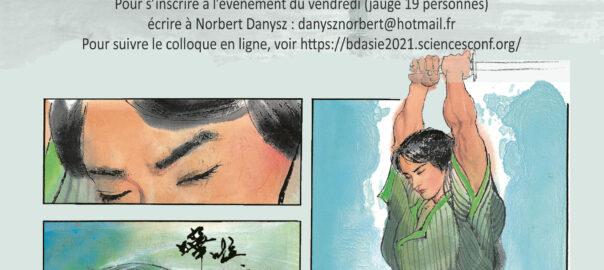 """Colloque international """"Bande Dessinée en Asie Orientale"""" (14-15 octobre 2021, Paris et Lyon)"""